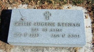 KEENAN (VETERAN), LESLIE EUGENE - Prowers County, Colorado | LESLIE EUGENE KEENAN (VETERAN) - Colorado Gravestone Photos