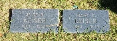 KEISER, ISAAC E - Prowers County, Colorado | ISAAC E KEISER - Colorado Gravestone Photos