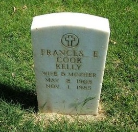 COOK KELLY, FRANCES E - Prowers County, Colorado   FRANCES E COOK KELLY - Colorado Gravestone Photos