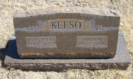 KELSO, ALISON - Prowers County, Colorado | ALISON KELSO - Colorado Gravestone Photos