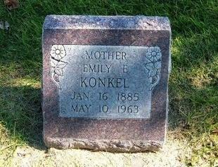 SNIDER KONKEL, EMILY E - Prowers County, Colorado | EMILY E SNIDER KONKEL - Colorado Gravestone Photos