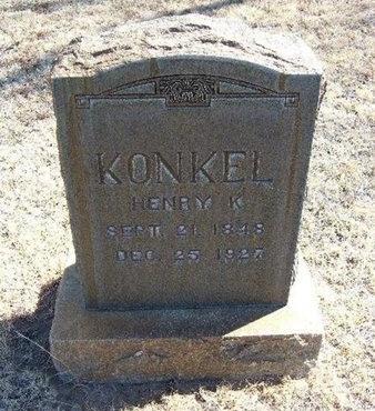 KONKEL, HENRY - Prowers County, Colorado | HENRY KONKEL - Colorado Gravestone Photos