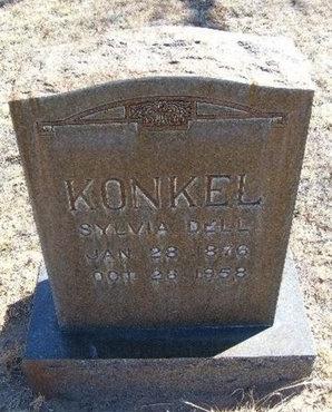 KONKEL, SYLVIA DELL - Prowers County, Colorado | SYLVIA DELL KONKEL - Colorado Gravestone Photos