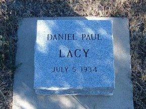 LACY, DANIEL PAUL - Prowers County, Colorado   DANIEL PAUL LACY - Colorado Gravestone Photos