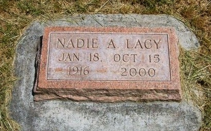 LACY, NADIE A - Prowers County, Colorado   NADIE A LACY - Colorado Gravestone Photos