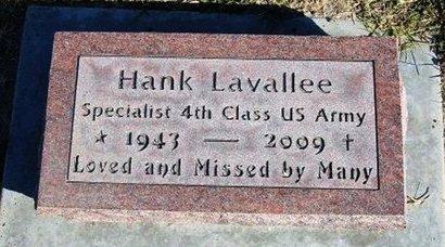 "LAVALLEE (VETERAN), HENRY JOSEPH ""HANK"" - Prowers County, Colorado   HENRY JOSEPH ""HANK"" LAVALLEE (VETERAN) - Colorado Gravestone Photos"