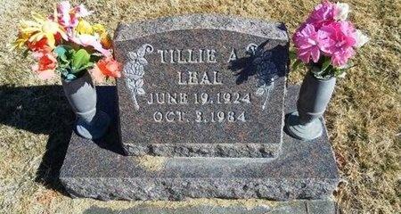 ALVARADO LEAL, TILLIE - Prowers County, Colorado | TILLIE ALVARADO LEAL - Colorado Gravestone Photos