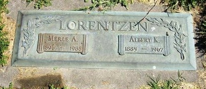 LORENTZEN, MERLE A - Prowers County, Colorado   MERLE A LORENTZEN - Colorado Gravestone Photos