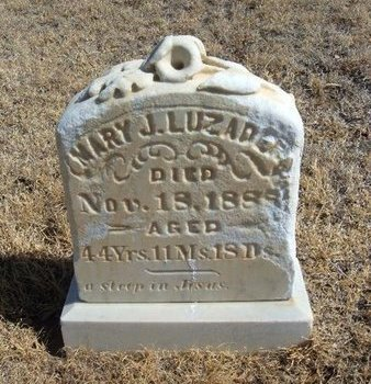 CALBREATH LUZADER, MARY JENNET - Prowers County, Colorado | MARY JENNET CALBREATH LUZADER - Colorado Gravestone Photos