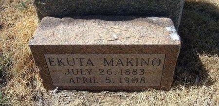 MAKINO, EKUTA - Prowers County, Colorado | EKUTA MAKINO - Colorado Gravestone Photos