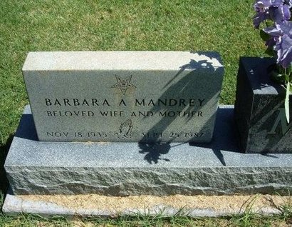 MANDREY, BARBARA A - Prowers County, Colorado | BARBARA A MANDREY - Colorado Gravestone Photos
