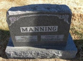MANNING, MAE E - Prowers County, Colorado | MAE E MANNING - Colorado Gravestone Photos
