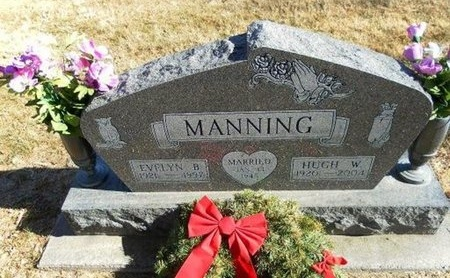 MANNING, EVELYN B - Prowers County, Colorado | EVELYN B MANNING - Colorado Gravestone Photos
