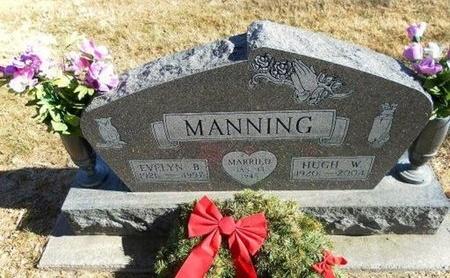MANNING, HUGH W - Prowers County, Colorado | HUGH W MANNING - Colorado Gravestone Photos