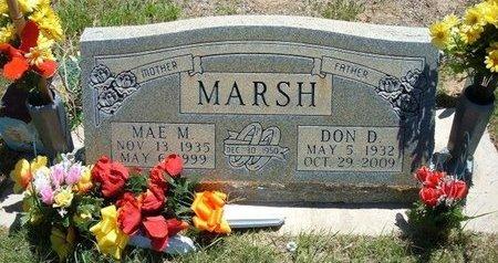 MARSH, MAE M - Prowers County, Colorado | MAE M MARSH - Colorado Gravestone Photos
