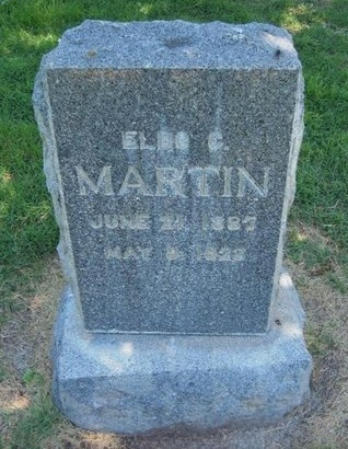 MARTIN, ELDO C - Prowers County, Colorado | ELDO C MARTIN - Colorado Gravestone Photos