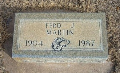 MARTIN, FRED J - Prowers County, Colorado | FRED J MARTIN - Colorado Gravestone Photos