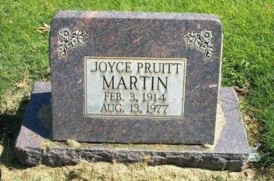 MARTIN, JOYCE - Prowers County, Colorado | JOYCE MARTIN - Colorado Gravestone Photos