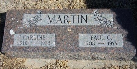 MARTIN, PAUL C - Prowers County, Colorado | PAUL C MARTIN - Colorado Gravestone Photos