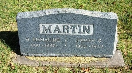 MARTIN, MARY EMMALINE - Prowers County, Colorado | MARY EMMALINE MARTIN - Colorado Gravestone Photos