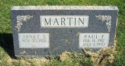 MARTIN, PAUL P - Prowers County, Colorado | PAUL P MARTIN - Colorado Gravestone Photos