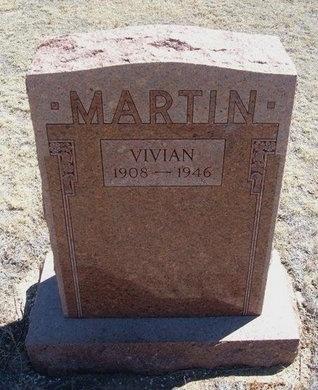 MARTIN, VIVIAN - Prowers County, Colorado | VIVIAN MARTIN - Colorado Gravestone Photos