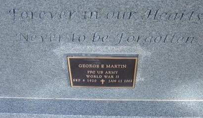 MARTIN (VETERAN WWII), GEORGE ELDON - Prowers County, Colorado   GEORGE ELDON MARTIN (VETERAN WWII) - Colorado Gravestone Photos