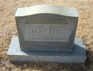 MARTIN, WILLIAM JEROME - Prowers County, Colorado | WILLIAM JEROME MARTIN - Colorado Gravestone Photos