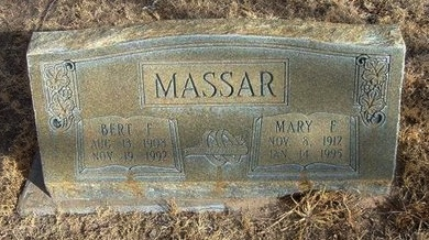 MASSAR, MARY F - Prowers County, Colorado | MARY F MASSAR - Colorado Gravestone Photos