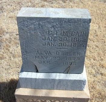 MCCAIN, CYRUS E - Prowers County, Colorado | CYRUS E MCCAIN - Colorado Gravestone Photos