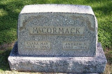 MCCORMACK, CLARA MAY - Prowers County, Colorado | CLARA MAY MCCORMACK - Colorado Gravestone Photos