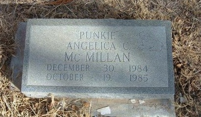 MCMILLAN, ANGELICA C - Prowers County, Colorado | ANGELICA C MCMILLAN - Colorado Gravestone Photos