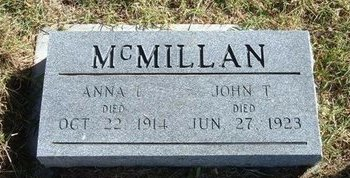 MCMILLAN, JOHN T - Prowers County, Colorado | JOHN T MCMILLAN - Colorado Gravestone Photos