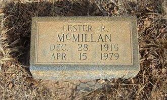 MCMILLAN, LESTER RUBEN - Prowers County, Colorado   LESTER RUBEN MCMILLAN - Colorado Gravestone Photos