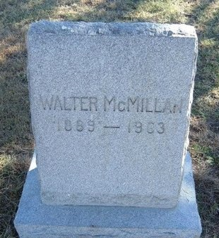 MCMILLAN, WALTER - Prowers County, Colorado | WALTER MCMILLAN - Colorado Gravestone Photos
