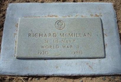 MCMILLAN (VETERAN WWII), RICHARD P - Prowers County, Colorado | RICHARD P MCMILLAN (VETERAN WWII) - Colorado Gravestone Photos