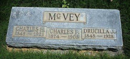 MCVEY, DRUCILLA J - Prowers County, Colorado | DRUCILLA J MCVEY - Colorado Gravestone Photos