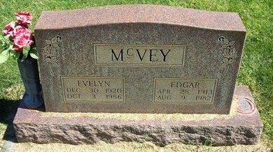 MCVEY, EDGAR - Prowers County, Colorado | EDGAR MCVEY - Colorado Gravestone Photos
