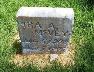 MCVEY, IRA A - Prowers County, Colorado | IRA A MCVEY - Colorado Gravestone Photos