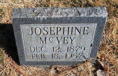 MCVEY, JOSEPHINE - Prowers County, Colorado | JOSEPHINE MCVEY - Colorado Gravestone Photos