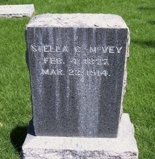 MCVEY, STELLA C - Prowers County, Colorado | STELLA C MCVEY - Colorado Gravestone Photos