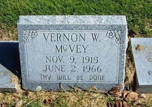 MCVEY, VERNON W - Prowers County, Colorado   VERNON W MCVEY - Colorado Gravestone Photos