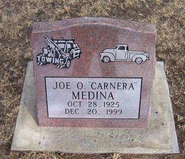 "MEDINA, JOE O ""CARNERA"" - Prowers County, Colorado | JOE O ""CARNERA"" MEDINA - Colorado Gravestone Photos"