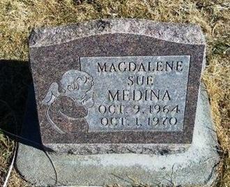 MEDINA, MAGDALENE SUE - Prowers County, Colorado   MAGDALENE SUE MEDINA - Colorado Gravestone Photos