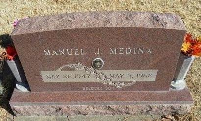 MEDINA, MANUEL J - Prowers County, Colorado | MANUEL J MEDINA - Colorado Gravestone Photos