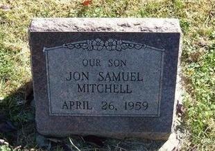 MITCHELL, JON SAMUEL - Prowers County, Colorado   JON SAMUEL MITCHELL - Colorado Gravestone Photos