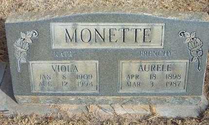 "MONETTE, VIOLA ""KATE"" - Prowers County, Colorado 