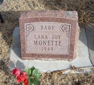 MONETTE, LANA JOY - Prowers County, Colorado | LANA JOY MONETTE - Colorado Gravestone Photos