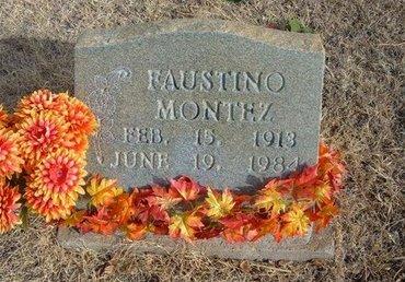 MONTEZ, FAUSTINO - Prowers County, Colorado | FAUSTINO MONTEZ - Colorado Gravestone Photos