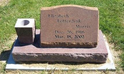 MORRIS, ELIZABETH - Prowers County, Colorado | ELIZABETH MORRIS - Colorado Gravestone Photos